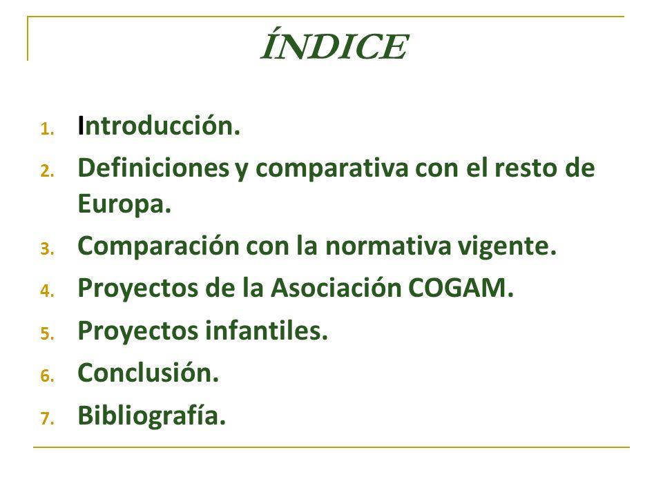 Asociación COGAM Fines Fomento del desarrollo pleno de la personalidad y de las capacidades afectivas.