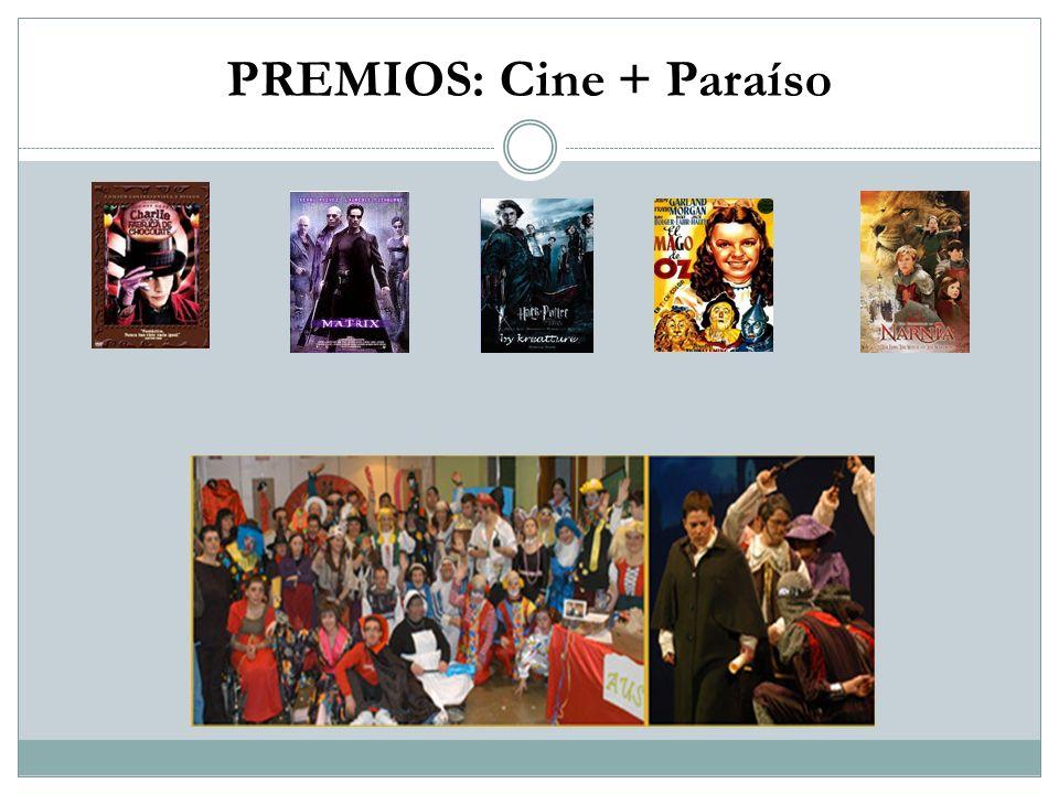 PREMIOS: Cine + Paraíso