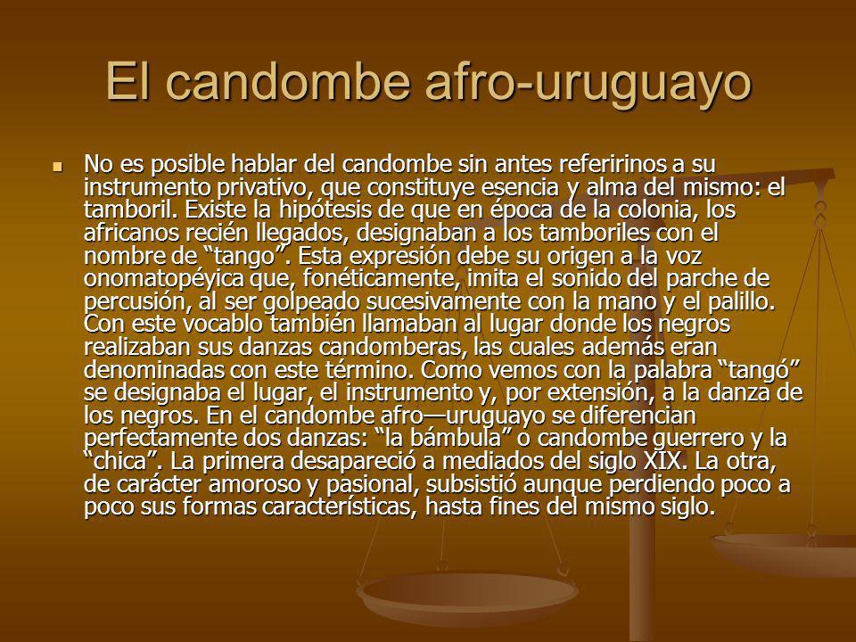 Compilado por: Ligia Gutierrez Compilado por: Ligia Gutierrez Tomado de: http://www.candomberos.com/historia.ht m Tomado de: http://www.candomberos.com/historia.ht m