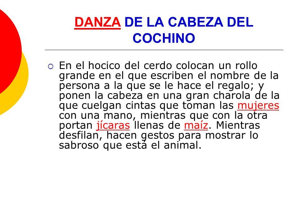 DANZADANZA DE LOS CONCHEROS Ésta es una de las pocas danzas en las que pueden participar mujeres.