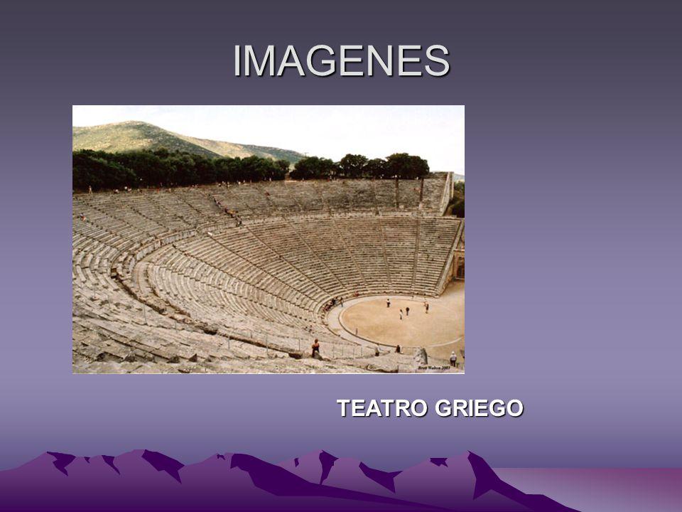 IMAGENES TEATRO GRIEGO