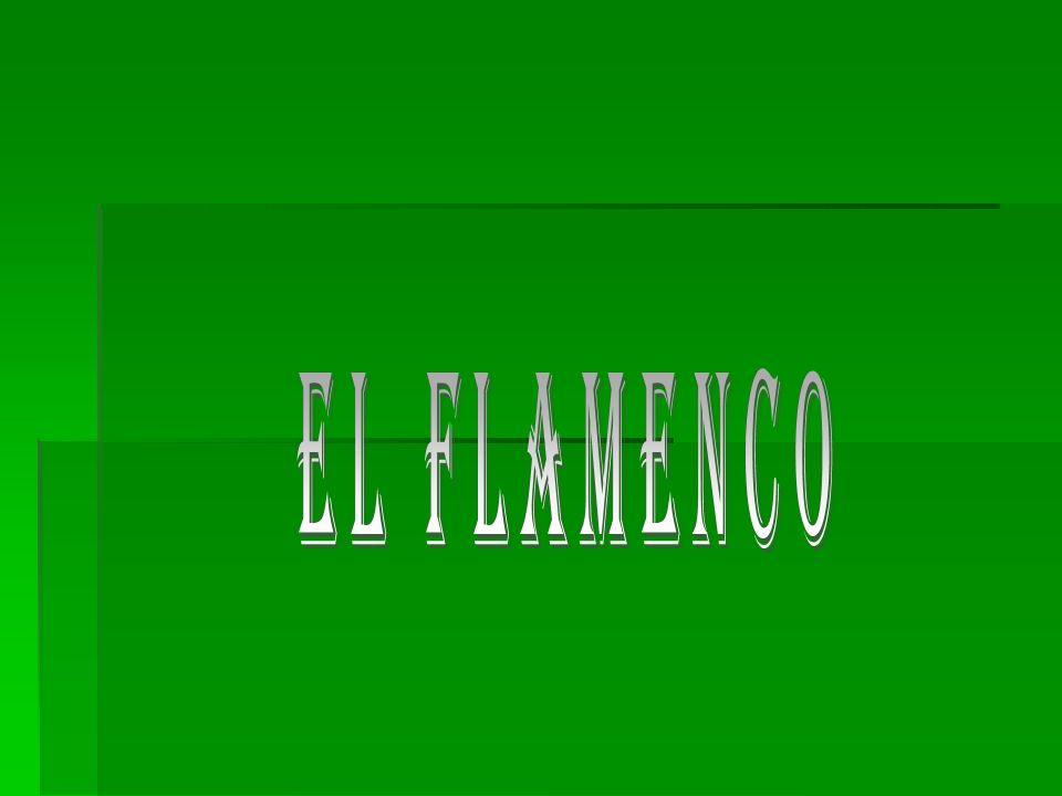 El Flamenco El flamenco es un género español de música y danza que se originó en Andalucía en el siglo XVIII, que tiene como base la música y la danza andaluza y en cuya creación y desarrollo tuvo un papel fundamental el pueblo gitano.