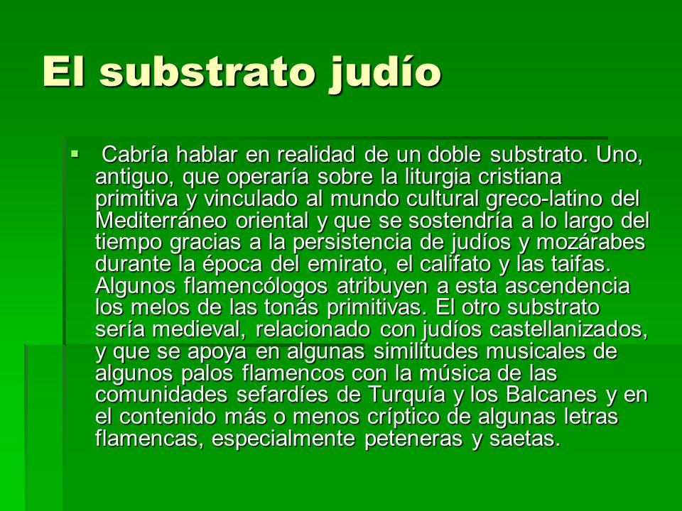 El substrato judío Cabría hablar en realidad de un doble substrato. Uno, antiguo, que operaría sobre la liturgia cristiana primitiva y vinculado al mu