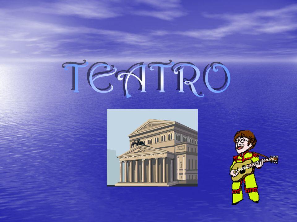 Definición del teatro Teatro es una palabra polisémica, ambigua, que tiene varios significados: Teatro es una palabra polisémica, ambigua, que tiene varios significados: Lugar, edificio donde tienen lugar las representaciones teatrales.