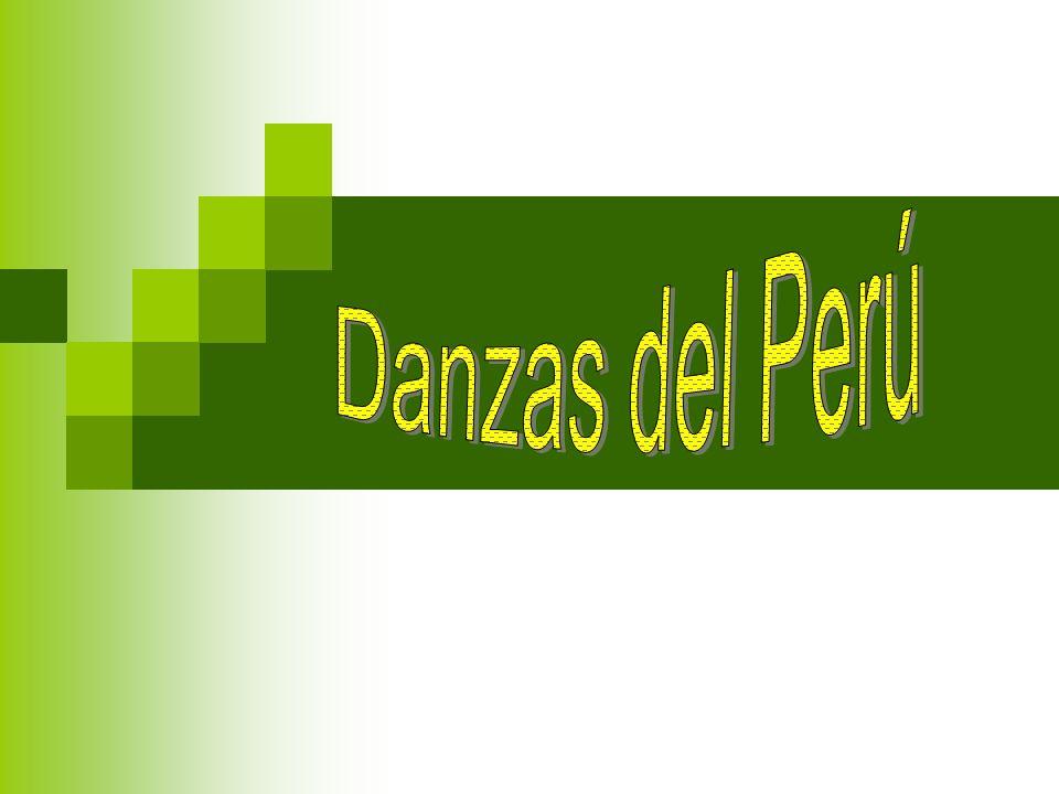 Danzas del Perú Las Danzas del Perú son los bailes cuyo origen o transformación han ocurrido en el territorio peruano con elementos de danzas e instrumentos provenientes principalmente de la fusión de las culturas amerindias, africanas e hispánicas.africanashispánicas