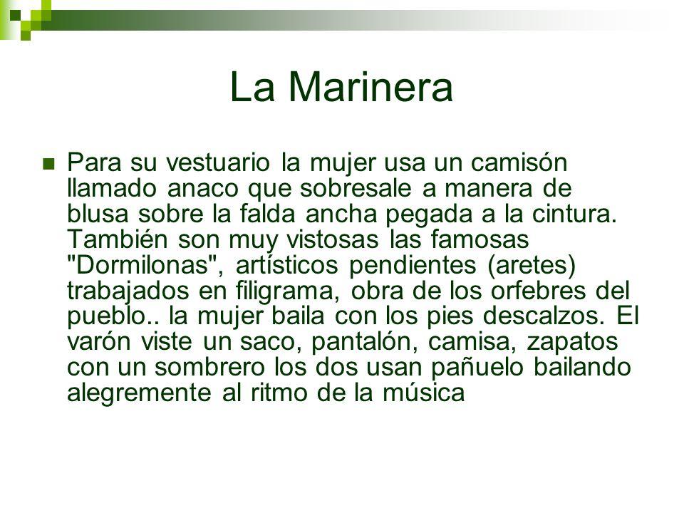 El Tondero Danza también conocida como marinera del Alto Piura, o de la yunga piurana (Morropón).