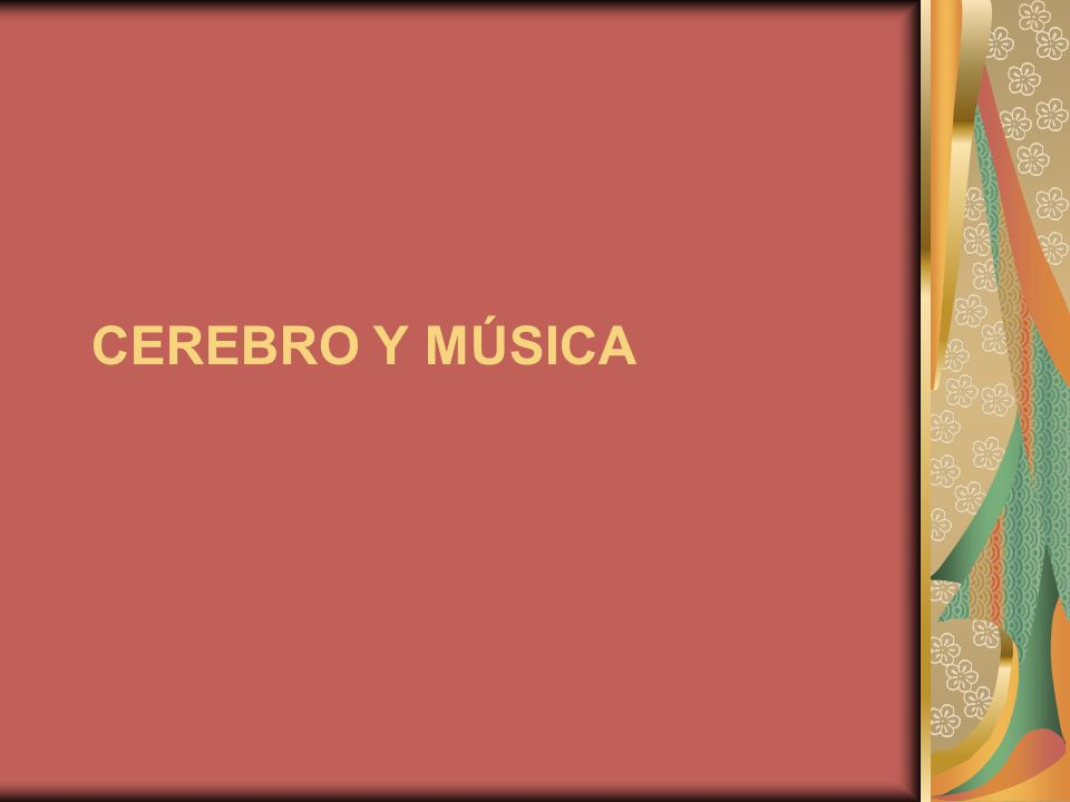 La música, que en principio es sustancia física, influye en muchos aspectos biológicos y de comportamiento del ser humano.