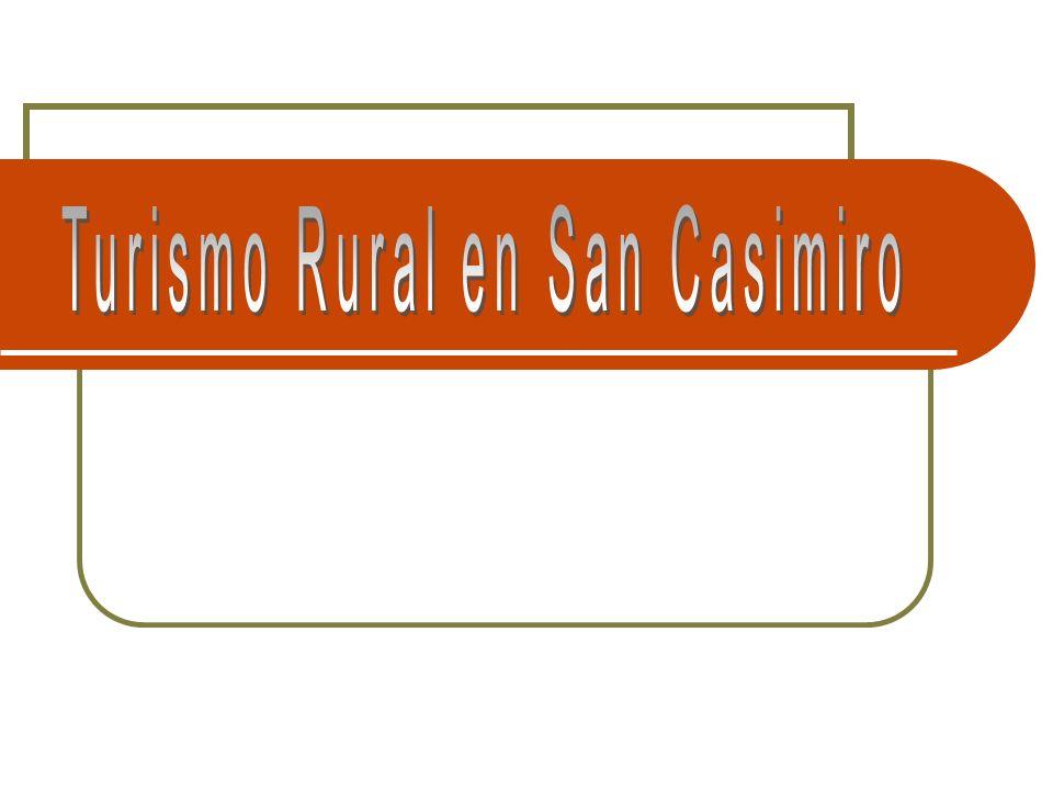 Turismo Rural en San Casimiro Así lo dio a conocer el licenciado Andrés Castillo, Director de Cultura de la Unefa, quien señaló que en el marco de estos eventos se llevó a cabo un Taller sobre Turismo Rural, Revalorización Socio-Cultural y Medio Ambiente, el pasado mes de enero.