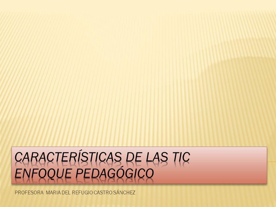 PROFESORA MARIA DEL REFUGIO CASTRO SÁNCHEZ