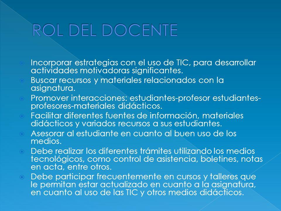 Usar las TIC para procesar la información y como instrumento cognitivo para potenciar los procesos mentales.