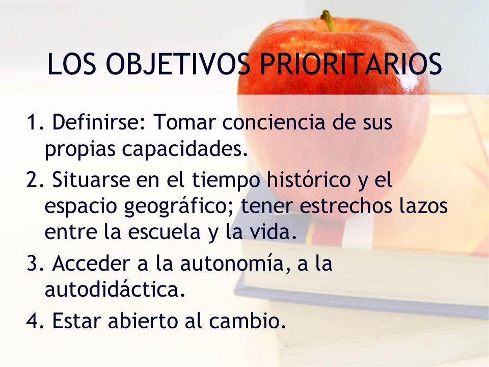 LOS PRINCIPIOS DE LA EDUCACIÓN PERSONALIZADA EN PIERRE FAURE 1.