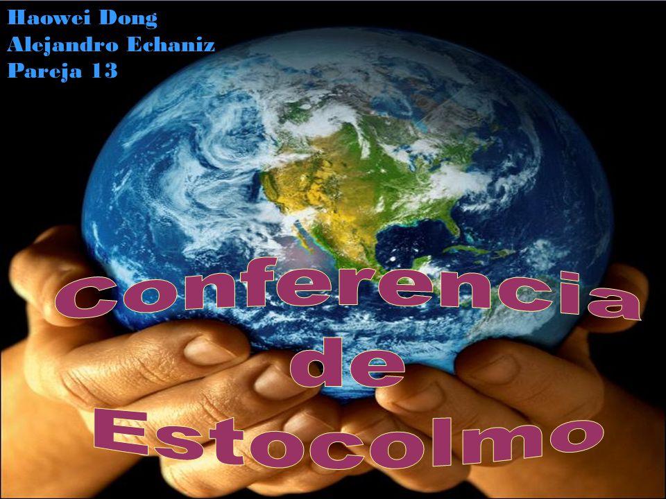 Desde 1973, los 5 de junio de cada año se celebra el Día Mundial del Ambiente que fue establecido por la Asamblea General de Naciones Unidas el 15 de diciembre de 1972 con la que se dio inicio a la Conferencia de Estocolmo, Suecia, cuyo tema central fue el Ambiente.