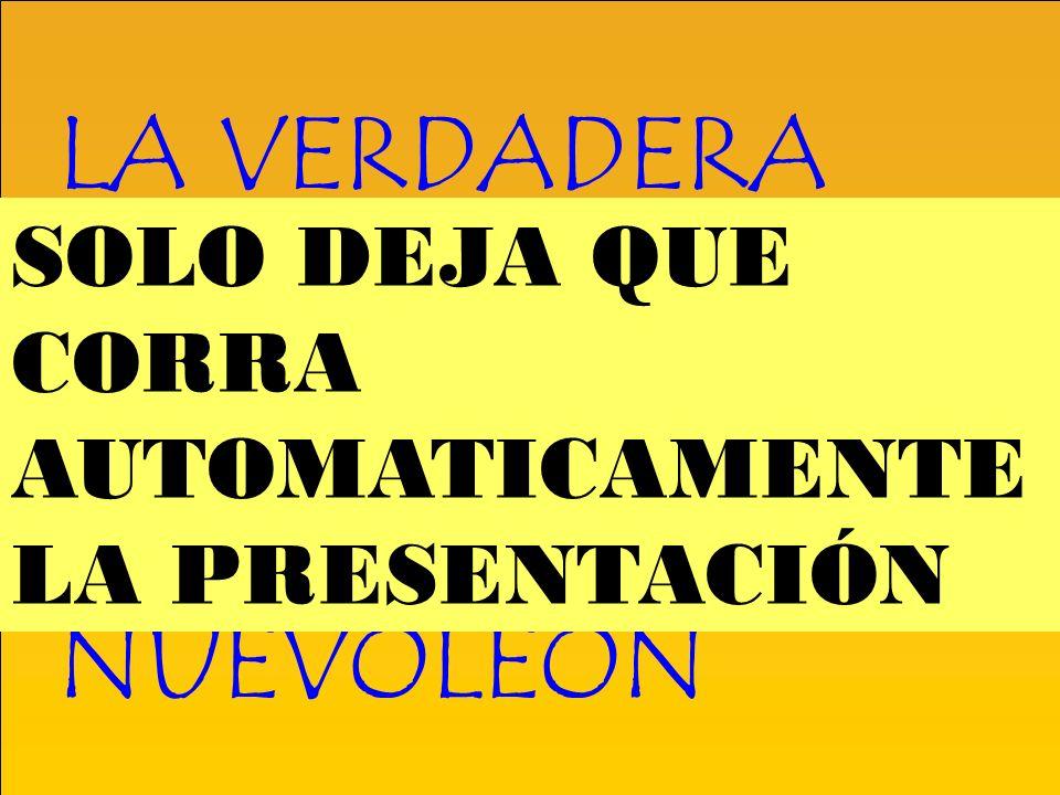 LA VERDADERA HISTORIA DE LOS CAMPEONATOS DE FUTBOL EN NUEVOLEÓN SOLO DEJA QUE CORRA AUTOMATICAMENTE LA PRESENTACIÓN