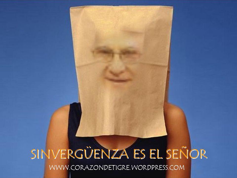 NO LE IMPORTA EL RIDÍCULO WWW.CORAZONDETIGRE.WORDPRESS.COM