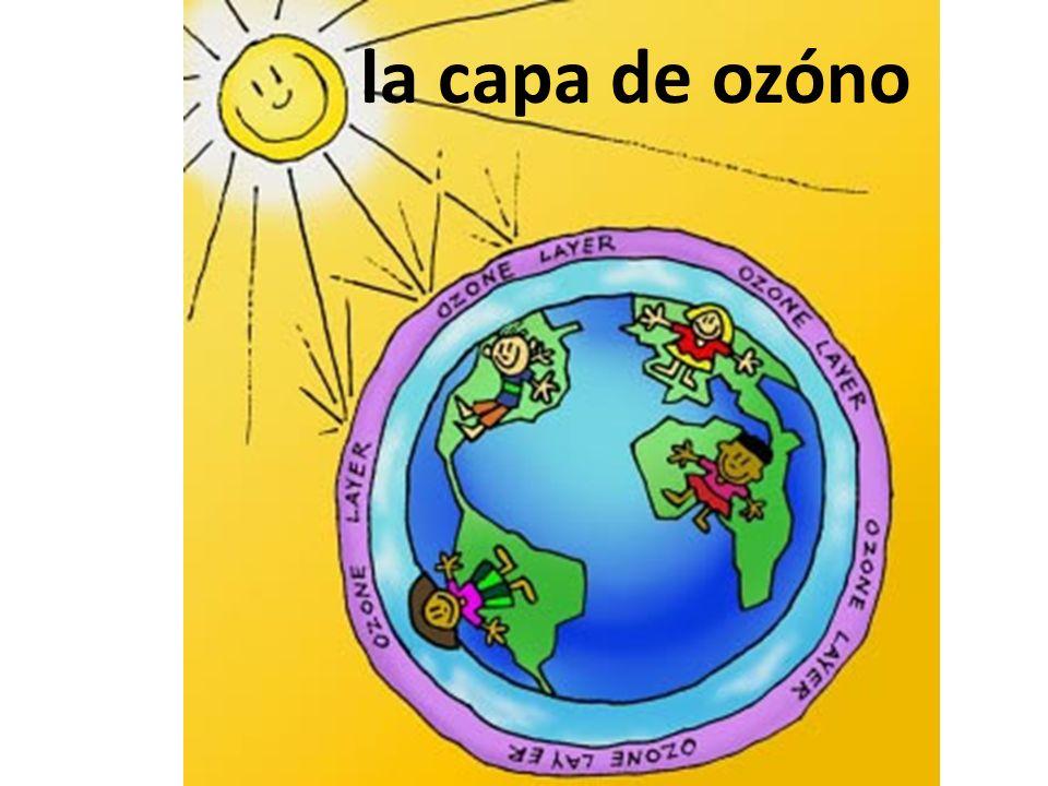 la capa de ozóno