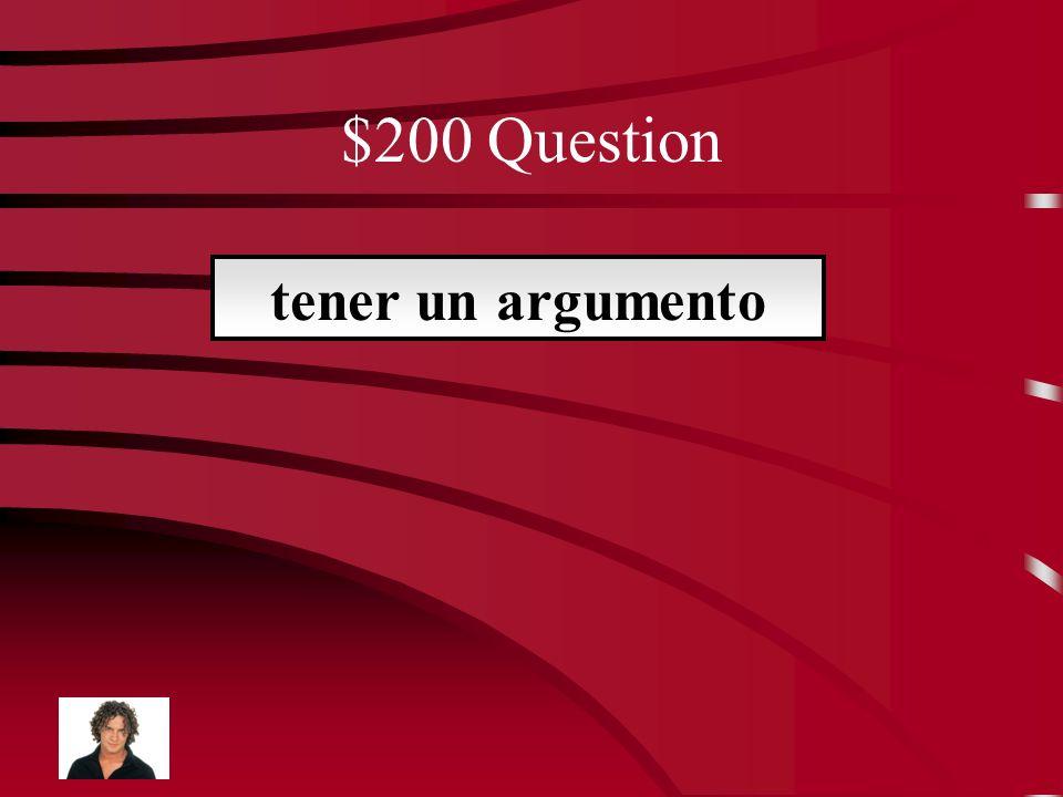 $100 Answer la muerte