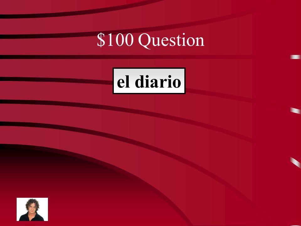 Jeopardy Vocab Lección 4 Vocab Lección 5 $100 $200 $300 $400 $500 $100 $200 $300 $400 $500 Final Jeopardy Vocab Lección 3 El viaje de Carol Don Quijote