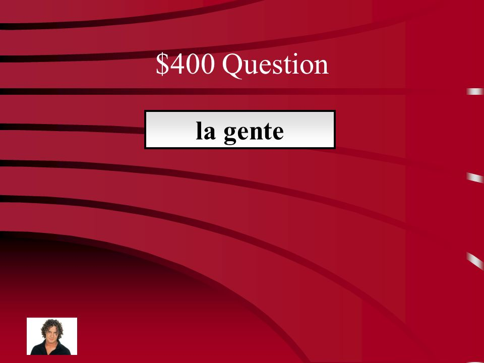 $400 Question La maestra de Carol se llama ____