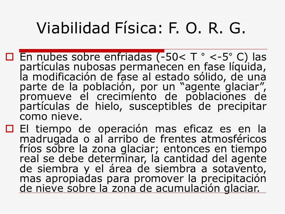Viabilidad Física: F. O. R. G.