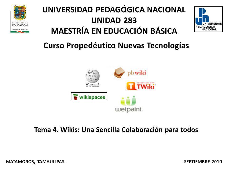 Curso Propedéutico Nuevas Tecnologías Tema 4.