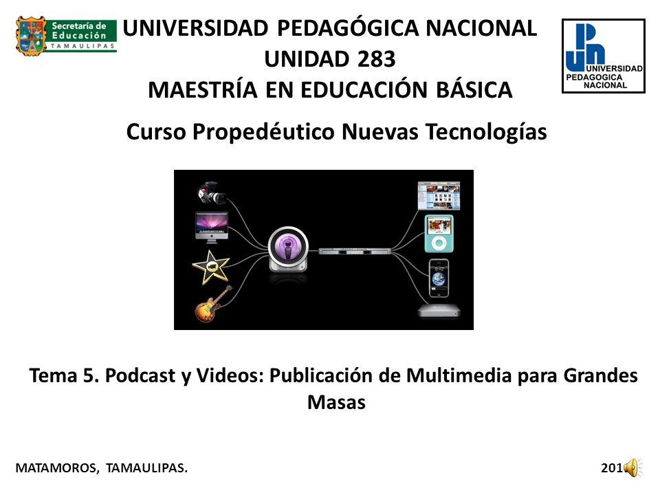 Curso Propedéutico Nuevas Tecnologías Tema 5.