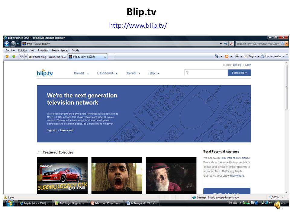 http://www.blip.tv/ Blip.tv