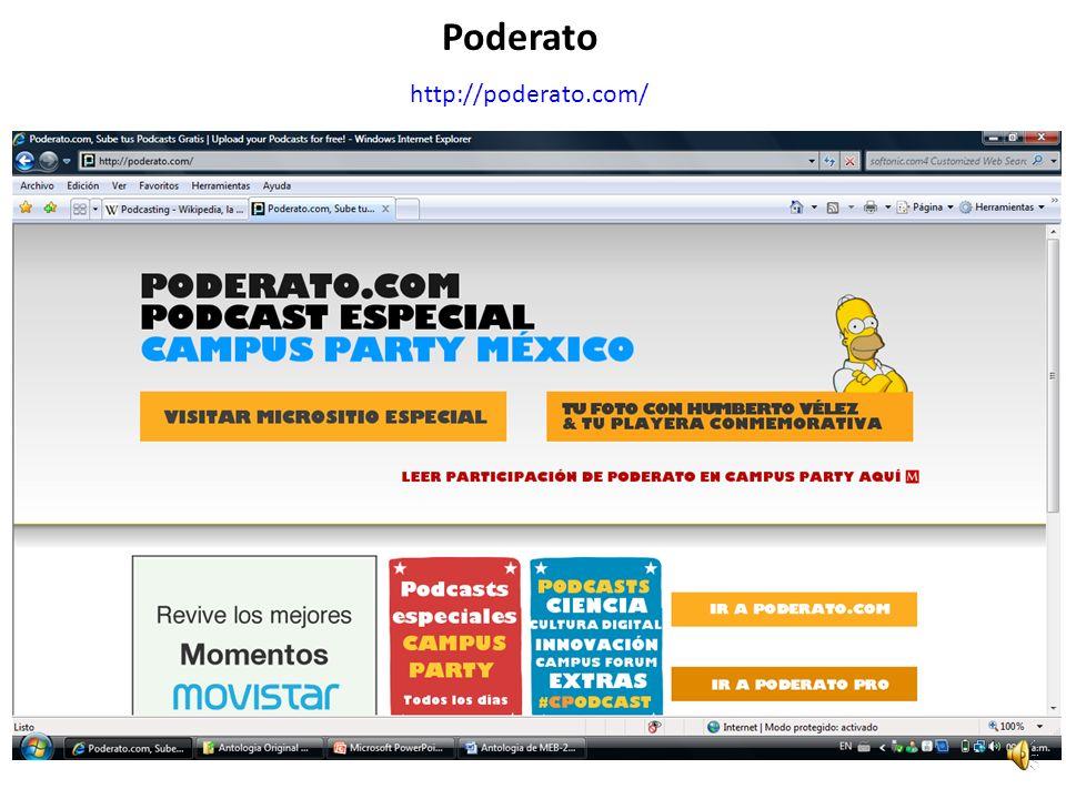 http://poderato.com/ Poderato