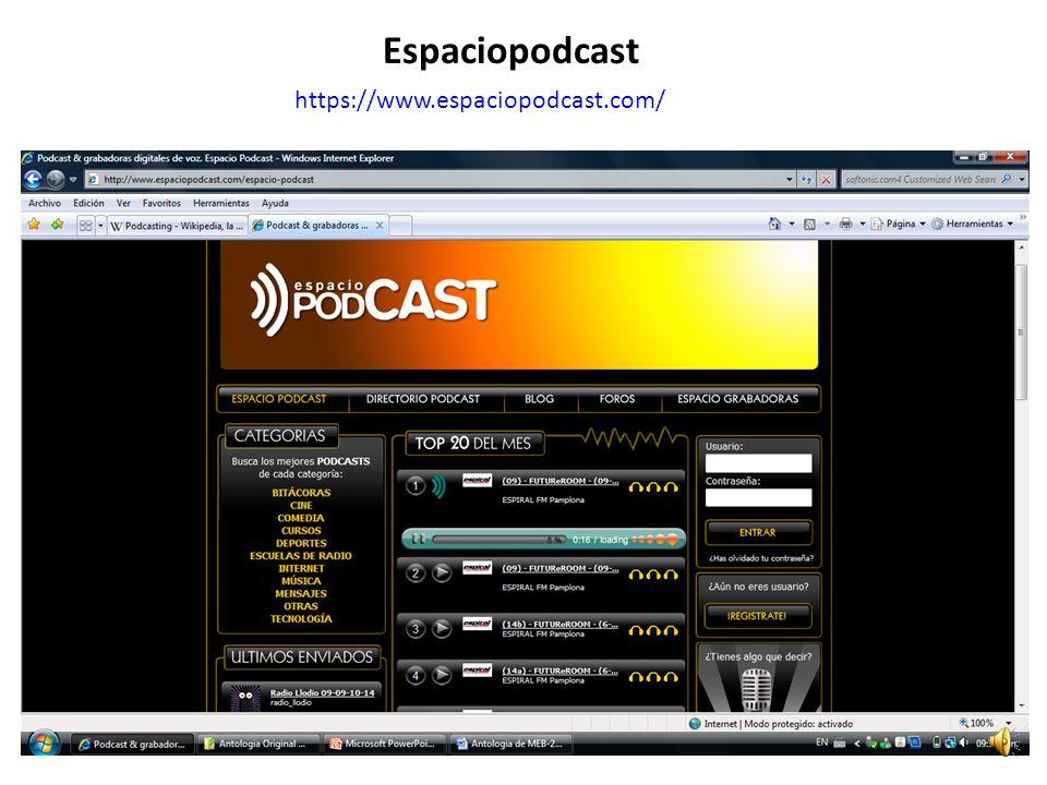 https://www.espaciopodcast.com/ Espaciopodcast