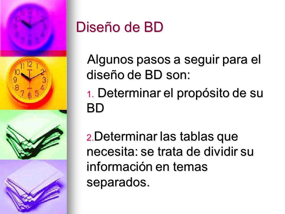 Diseño de BD 3.