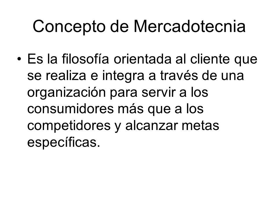 Conceptos Mercadotecnia de relaciones: enfoque de creación de relaciones cargadas de valor con los clientes y otros interesados.