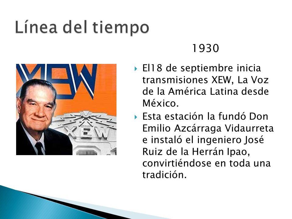 1919 El ingeniero Constantino de Tárnava, es reconocido como el iniciador de la radio en México, ya que en 1919 instala en la ciudad de Monterrey, Nue