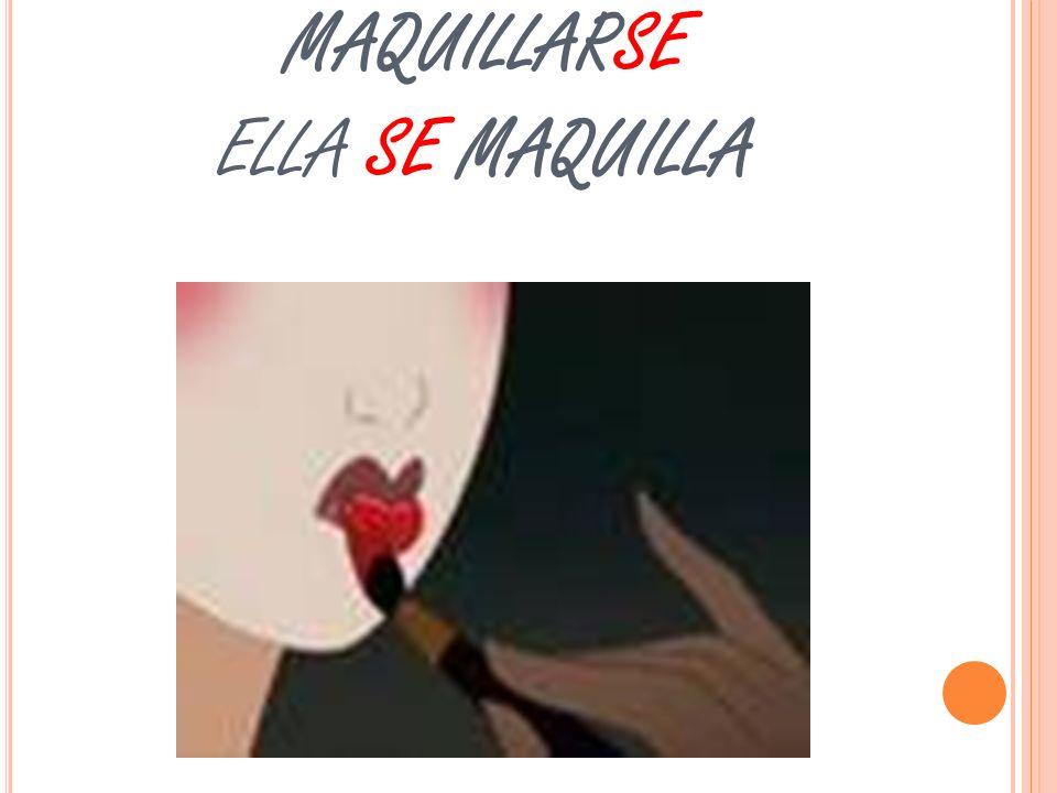 MULAN NECESITA MAQUILLARSE ELLA SE MAQUILLA