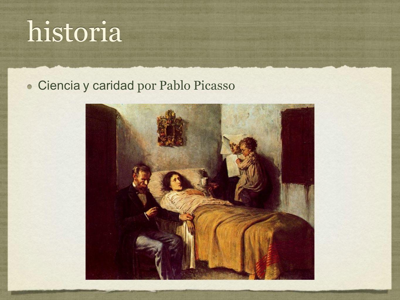 historia Ciencia y caridad por Pablo Picasso