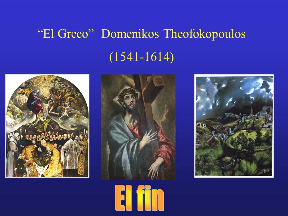 El Greco Domenikos Theofokopoulos (1541-1614)