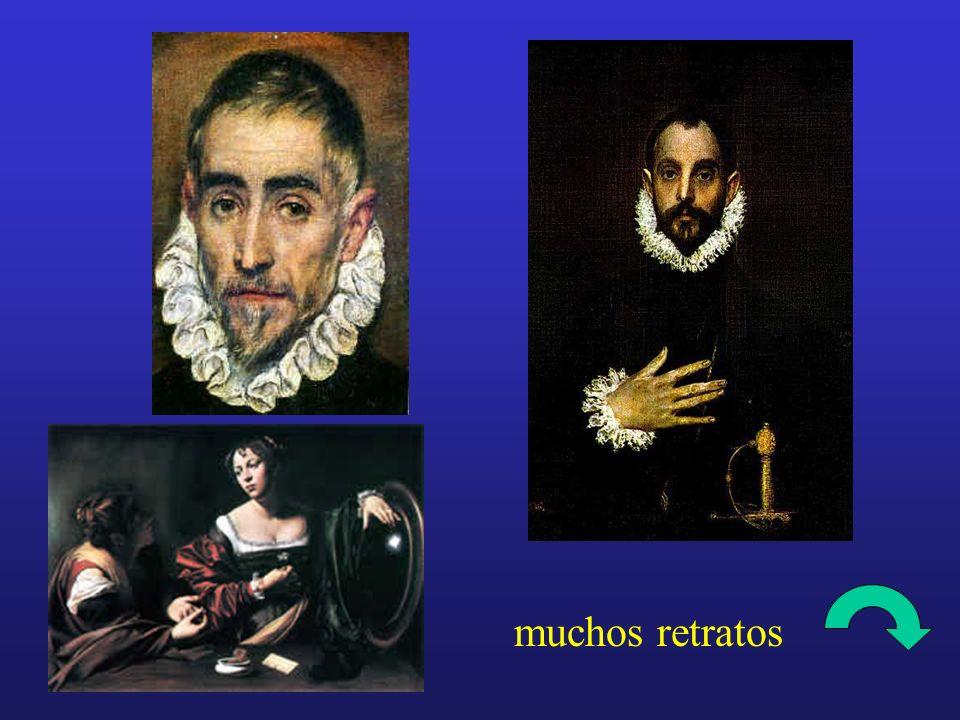 muchos retratos