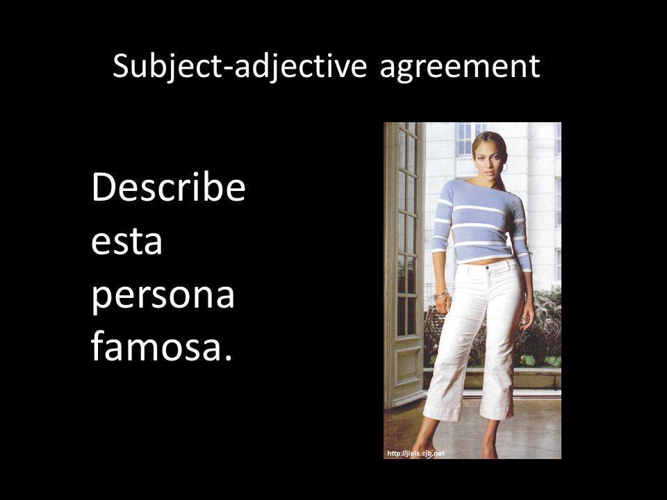Ser vs. estar yonosotros túvosotros ellaellos Conjugations for estar