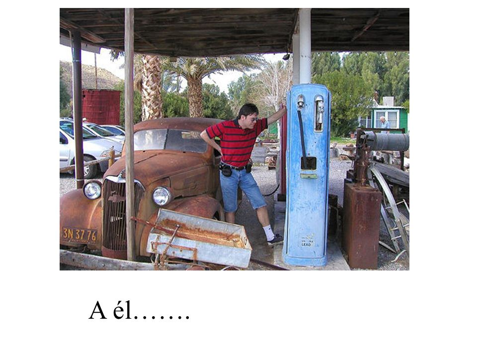 A él se le acabó la gasolina