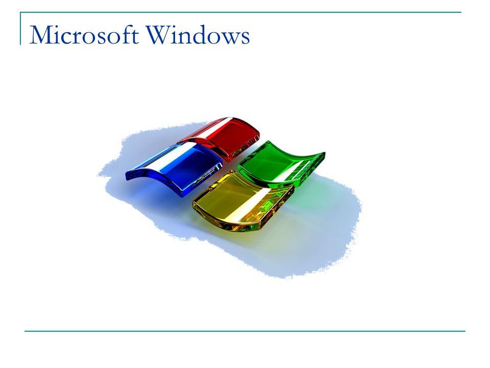 Windows 95 Lanzado en agosto de 1995 Trajo las computadoras a las masas.