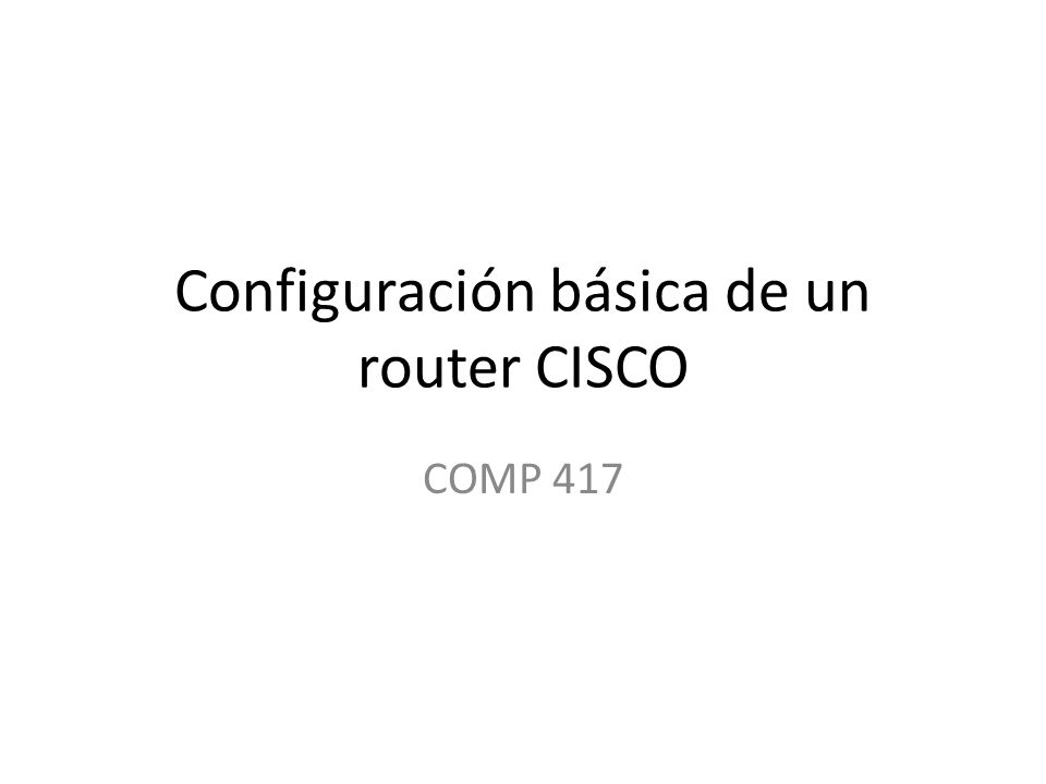 configurar la serial 0/0/0 con la dirección ip y el subnet mask (ejemplo 192.168.2.1 y subnet mask 24) R1(config-if)# interface serial 0/0/0 R1(config-if)# ip address 192.168.2.1 255.255.255.0 R1(config-if)# no shutdown
