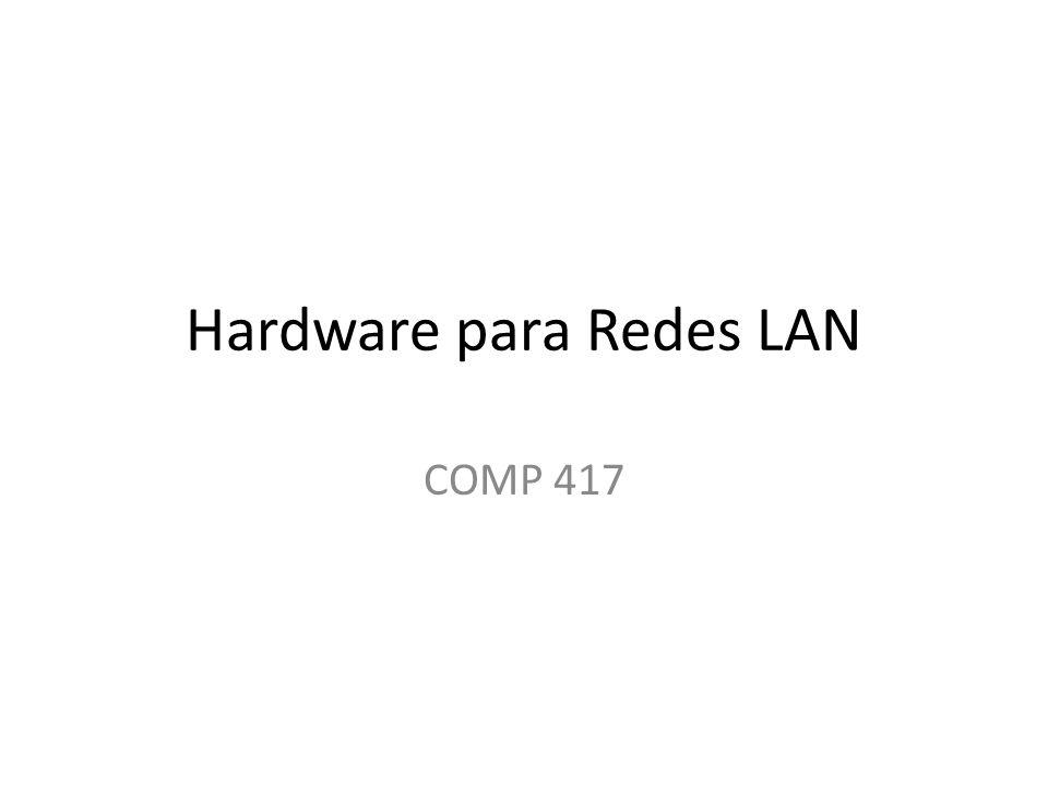 Hardware para Redes LAN COMP 417