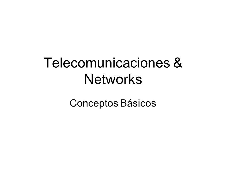 Telecomunicaciones & Networks Conceptos Básicos