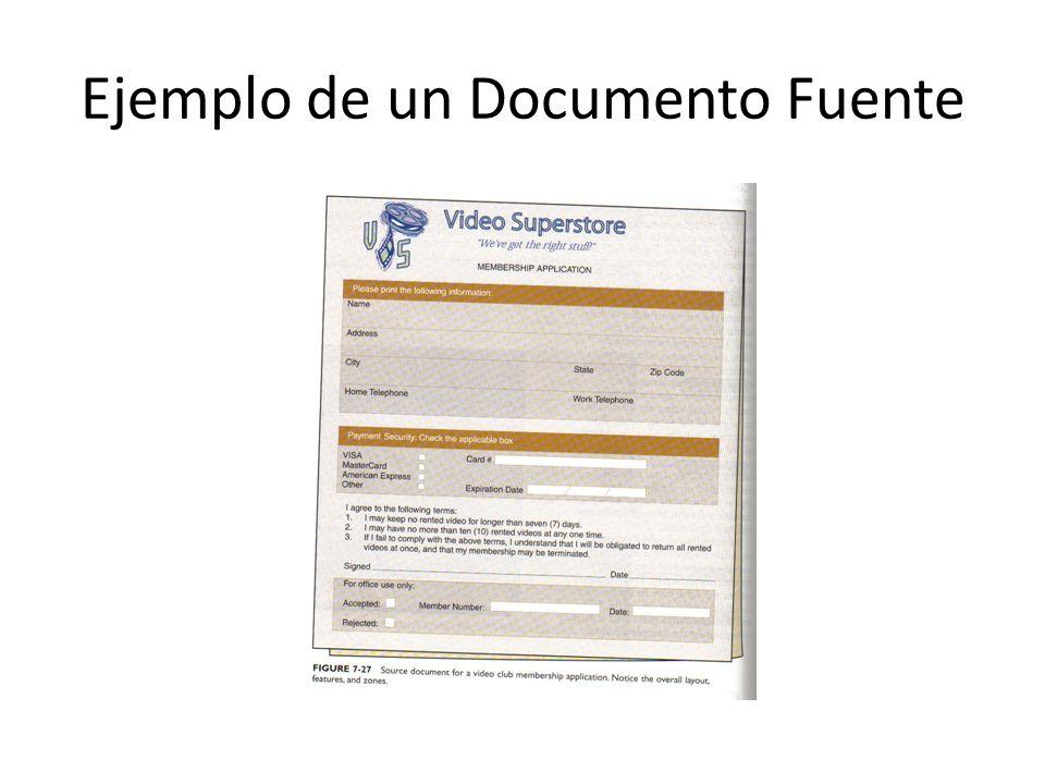 Ejemplo de un Documento Fuente