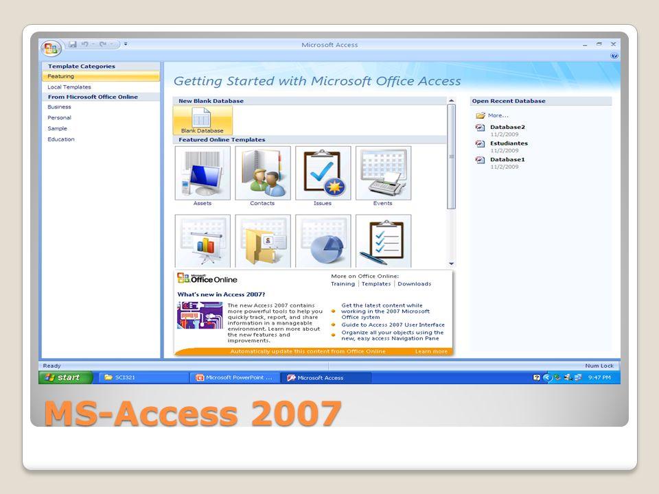 MS-Access 2007