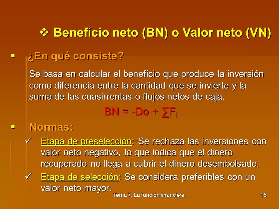 Tema 7. La función financiera15
