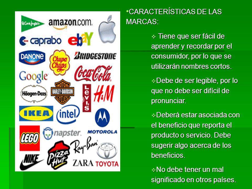 Nombres individuales de marca por producto: Nombres individuales de marca por producto: La empresa no liga para nada su prestigio a la aceptación del