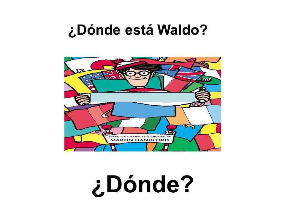 ¿Dónde? ¿Dónde está Waldo?