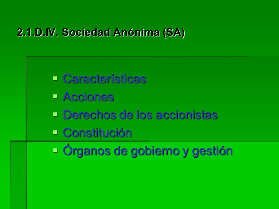 2.1.D.III. Sociedad de Responsabilidad Limitada (SL o SRL) Constitución: Constitución: Redacción de la de los estatutos de la sociedad. Redacción de l