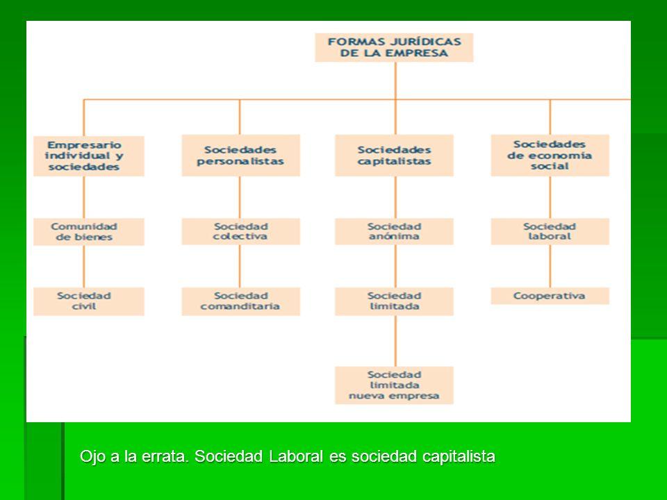 II.D. Clases de empresa según su forma jurídica A grandes rasgos, jurídicamente distinguimos entre: A grandes rasgos, jurídicamente distinguimos entre