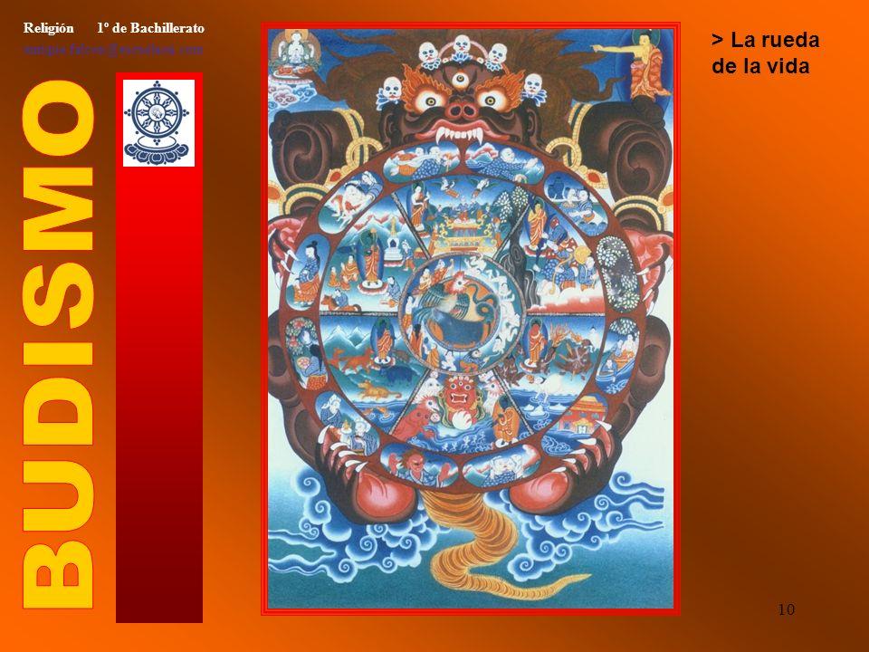 9 Religión 1º de Bachillerato enrique.falcon@escuelassj.com > Paranirvana final de Buda
