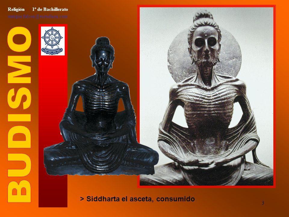 2 Religión 1º de Bachillerato enrique.falcon@escuelassj.com > Siddharta Gautama, el príncipe